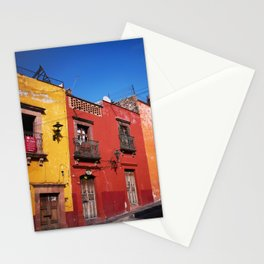 Colorful Architecture Stationery Cards