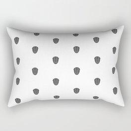 Trilobite Pattern Rectangular Pillow