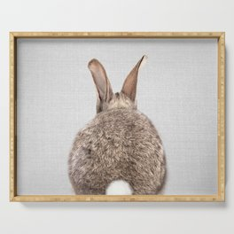 Rabbit Tail - Colorful Serving Tray
