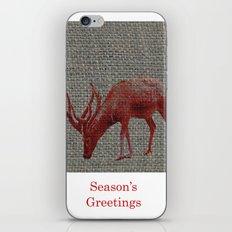 Season's Greetings 01 iPhone & iPod Skin