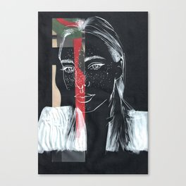 Dark Thoughts Canvas Print