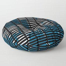Shutters Grid Floor Pillow