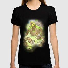 Castle Guardian Robot T-shirt