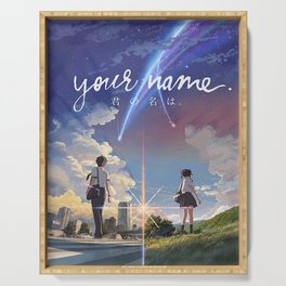 Your Name Anime Serving Tray