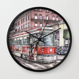 Spadina King Wall Clock