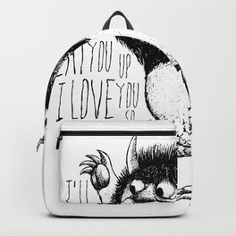 I'll Eat You Up I Love You So Backpack