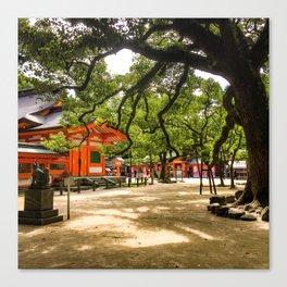 Sumiyoshi Shrine Canvas Print