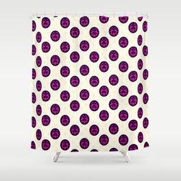 JoJo - Giorno Giovanna Pattern [Anime Logo Ver.] Shower Curtain
