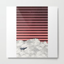 Starry Dreamboat Metal Print