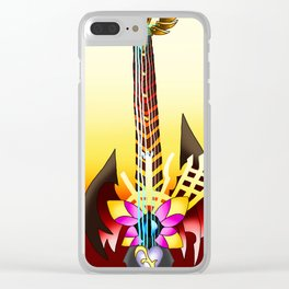 Fusion Keyblade Guitar #64 - Ultima Weapon & End of Pain Clear iPhone Case