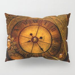 Awesome noble steampunk design Pillow Sham