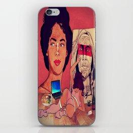 The Artistic Woman iPhone Skin