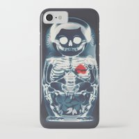 doll iPhone & iPod Cases featuring Nesting Doll X-Ray by Ali GULEC