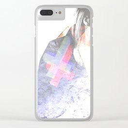 Androfemme: Smitten Drown I Clear iPhone Case