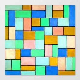 Theo van Doesburg Composition in Dissonances Canvas Print