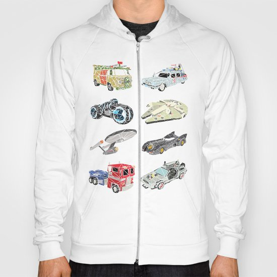The Iconic Transportation Units Hoody