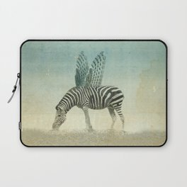 on the wings Laptop Sleeve
