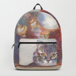 Purling Puss Backpack