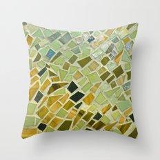 Bright n Sunshiny Day Mosaic Throw Pillow