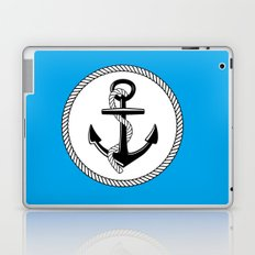 Anchors Up Laptop & iPad Skin