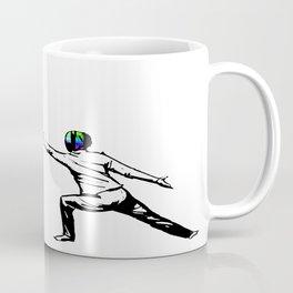 music battle fencing Coffee Mug