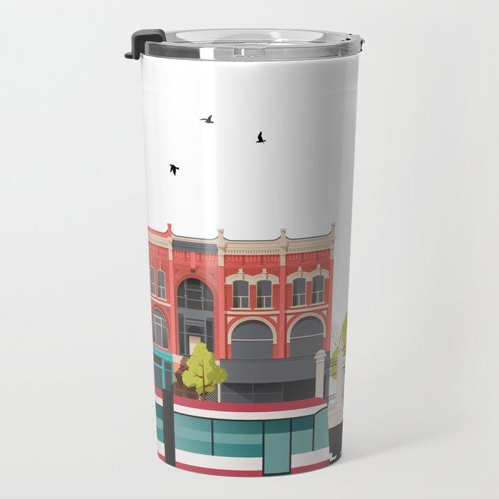 Queen West - Toronto Neighbourhood Travel Mug