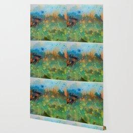 Soleil Bleu Wallpaper