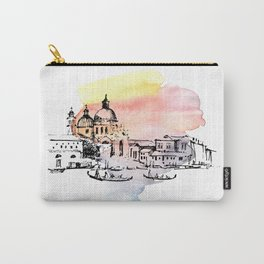 Venice. Watercolor and ink. Carry-All Pouch