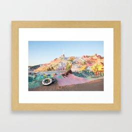 Salvation Mountain, Niland, CA Framed Art Print