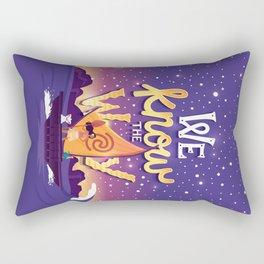 We know the way Rectangular Pillow