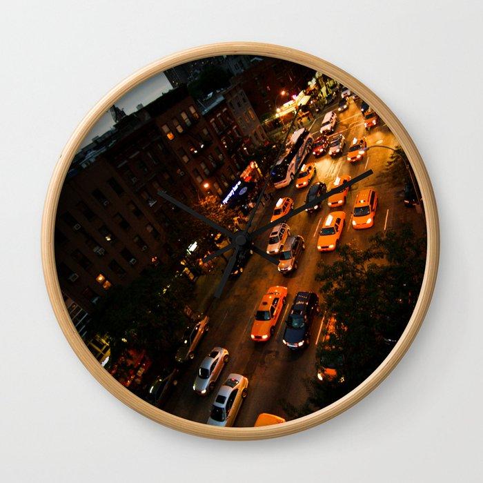 9th Avenue Wall Clock