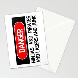 Danger: Ninjas Stationery Cards