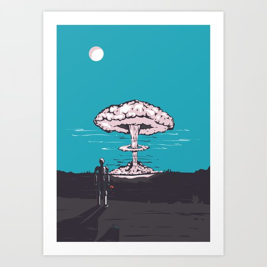 the end & the beginning Art Print