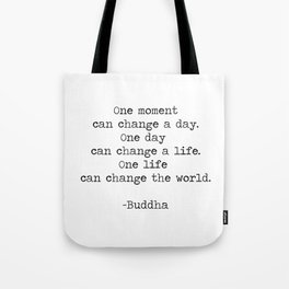 Make the moments count Tote Bag