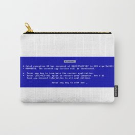 Blue screen of death Carry-All Pouch