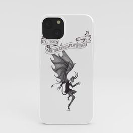 Idle Hands Are The Devil's Playthings iPhone Case