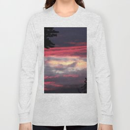 Patriotic Sky Long Sleeve T-shirt