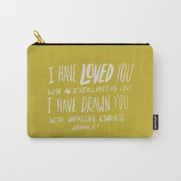 Everlasting Love x Mustard Carry-All Pouch