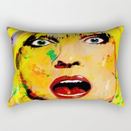 ROCK ICON DEBBIE HARRY Rectangular Pillow