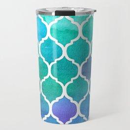 Emerald & Blue Marrakech Meander Travel Mug
