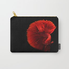 siamese fighting fish #society6 #decor #buyart Carry-All Pouch