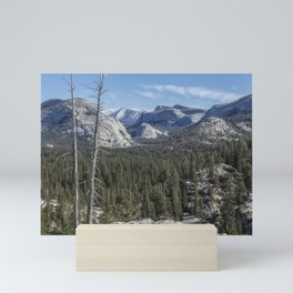 The North View Towards Tenaya Lake from Olmsted Point Mini Art Print