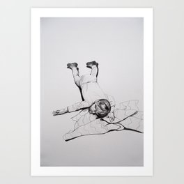 Glankie Art Print