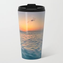 Sunset Ocean Travel Mug