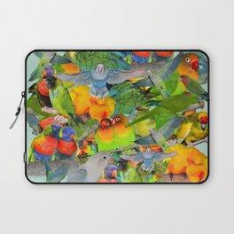 Parrots, parrots, parrots Laptop Sleeve