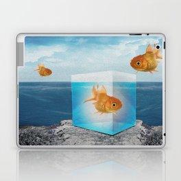 Horatio by the Sea - Goldfish Laptop & iPad Skin