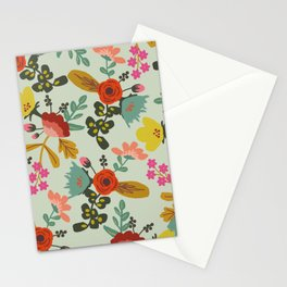 Muted Tone Floral Stationery Cards
