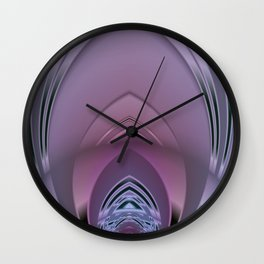 Deco Sanctuary Abstract Wall Clock