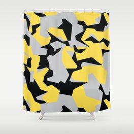 Search products, artworks and themes Yellow CAMO, Keep your stuff hidden in plain sight! Shower Curtain