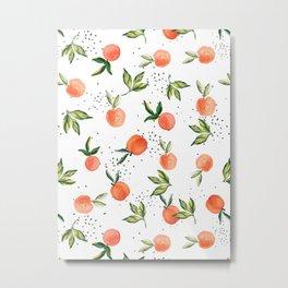 Peach Crush MB002 Metal Print